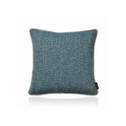 Crochet Frame teal |40x40| | Kissen | Manufaktur Kissenliebe