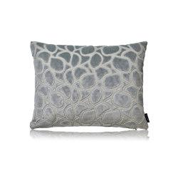 Pebbles slateblue |50x40| | Kissen | Manufaktur Kissenliebe