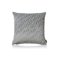 Tarsia slateblue |50x50| | Kissen | Manufaktur Kissenliebe