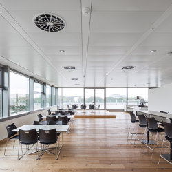 Chilled Metall Ceiling A11 | Climate ceiling systems | Barcol-Air