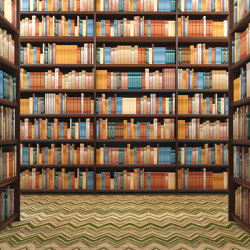 Library | Wall coverings / wallpapers | Agena