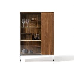 filigno glass cabinet | Vitrinas | TEAM 7