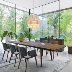 flaye extendable table | Dining tables | TEAM 7