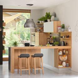l1 kitchen | Cucine parete | TEAM 7