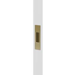 Mardeco End Pull Satin Brass | Flush pull handles | Mardeco International Ltd.