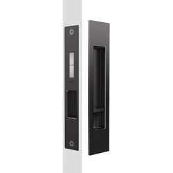 Mardeco Flush Pull Privacy Set Black | Flush pull handles | Mardeco International Ltd.