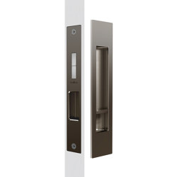 Mardeco Flush Pull Privacy Set Bronze | Flush pull handles | Mardeco International Ltd.