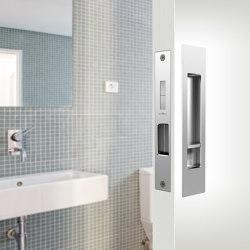 Mardeco Flush Pull Privacy Set Bronze | Flush pull handles | Mardeco International Ltd.