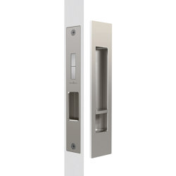 Mardeco Flush Pull Privacy Set Brushed Nickel | Flush pull handles | Mardeco International Ltd.