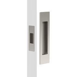 Mardeco Flush Pull Set Brushed Nickel | Flush pull handles | Mardeco International Ltd.