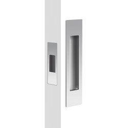 Mardeco Flush Pull Set Polished Chrome | Flush pull handles | Mardeco International Ltd.