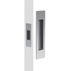 Mardeco Flush Pull Set Satin Chrome | Flush pull handles | Mardeco International Ltd.
