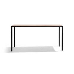 Illum bar table with teak top | Standing tables | Tribù
