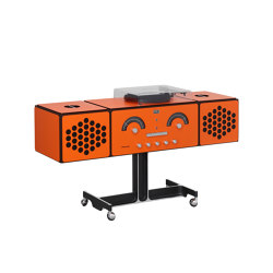 Radiofonografo | rr226-fo-st-Arancio | Sound systems | Brionvega