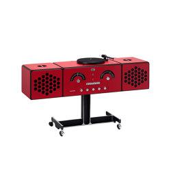Radiofonografo | rr226-fo-st-Rosso | Sound systems | Brionvega