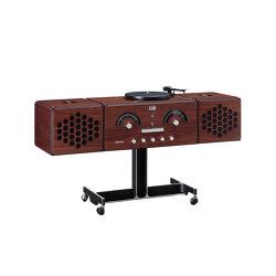Radiofonografo | rr226-fo-st-Noce-Canaletto | Sound systems | Brionvega