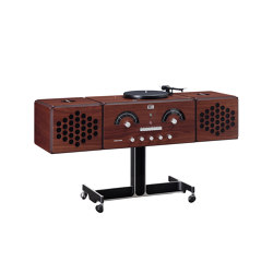 Radiofonografo | rr226-fo-st-Noce-Canaletto | Sistemas de audio | Brionvega