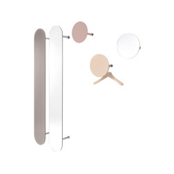 SLOT Wall-mounted Wardrobe with Mirror | Espejos | Schönbuch