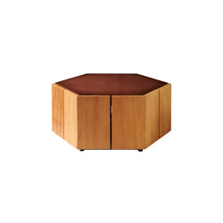 Hexagon Side Table | Couchtische | Tribù