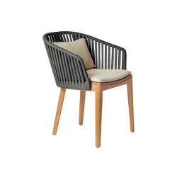 Mood Dining Chair | Earthbrown | Stühle | Tribù