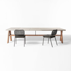 Joi Open Air dining table | Mesas comedor | Meridiani