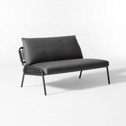 Zoe Open Air sofa | Canapés | Meridiani