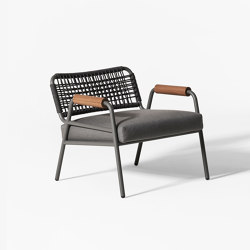 Zoe Wood Open Air armchair | Armchairs | Meridiani