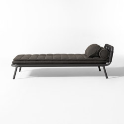 Noa Open Air lounge bed | Sun loungers | Meridiani