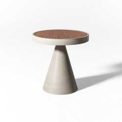 Cone Open Air low table | Mesas de centro | Meridiani