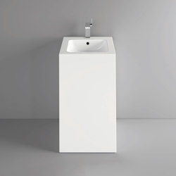 CONTURA freestanding washbasin wall-mount version | Wash basins | Schmidlin