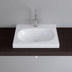 DUETT counter-top washbasin | Wash basins | Schmidlin