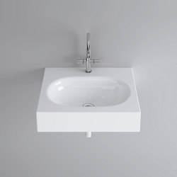 DUETT wall-mount washbasin | Wash basins | Schmidlin