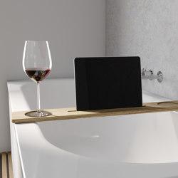 ELEMENT bathtub tray | Bath shelves | Schmidlin