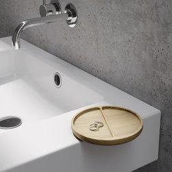 ELEMENT round wooden tray | Bandejas | Schmidlin