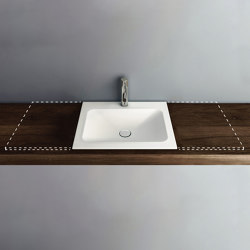 LOTUS VARIO built-in washbasin | Wash basins | Schmidlin