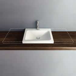 LOTUS VARIO counter-top washbasin | Wash basins | Schmidlin