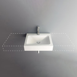 LOTUS VARIO wall-mount washbasin | Wash basins | Schmidlin
