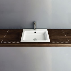 MERO VARIO built-in washbasin | Wash basins | Schmidlin