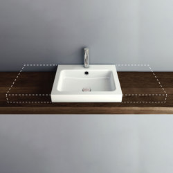 MERO VARIO counter top washbasin | Wash basins | Schmidlin