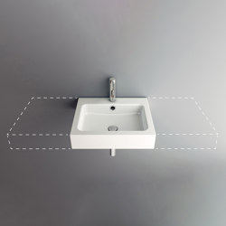 MERO VARIO wall-mount washbasin | Wash basins | Schmidlin