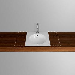 ORBIS VARIO built-in washbasin | Wash basins | Schmidlin