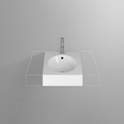 ORBIS VARIO wall-mount washbasin   Wash basins   Schmidlin