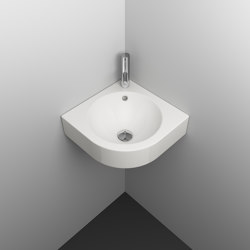 ORBIS CORNER wall-mount washbasin | Wash basins | Schmidlin