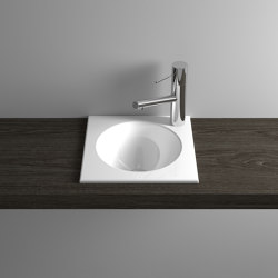 ORBIS MINI built-in washbasin | Wash basins | Schmidlin
