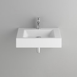 STUDIO wall-mount washbasin | Wash basins | Schmidlin