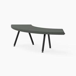 Autobahn, 90˚ Curved seat | Sitzbänke | Derlot Editions