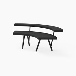 Autobahn, 90˚ Curved seat | Benches | Derlot Editions