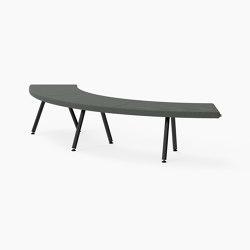Autobahn, 90˚ Curved bench | Sitzbänke | Derlot