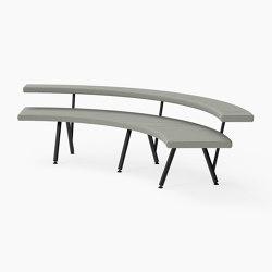Autobahn, 90˚ Curved seat | Sitzbänke | Derlot