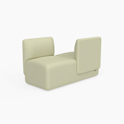 Caterpillar, Double seat with opposing backrests | Bancos | Derlot Editions